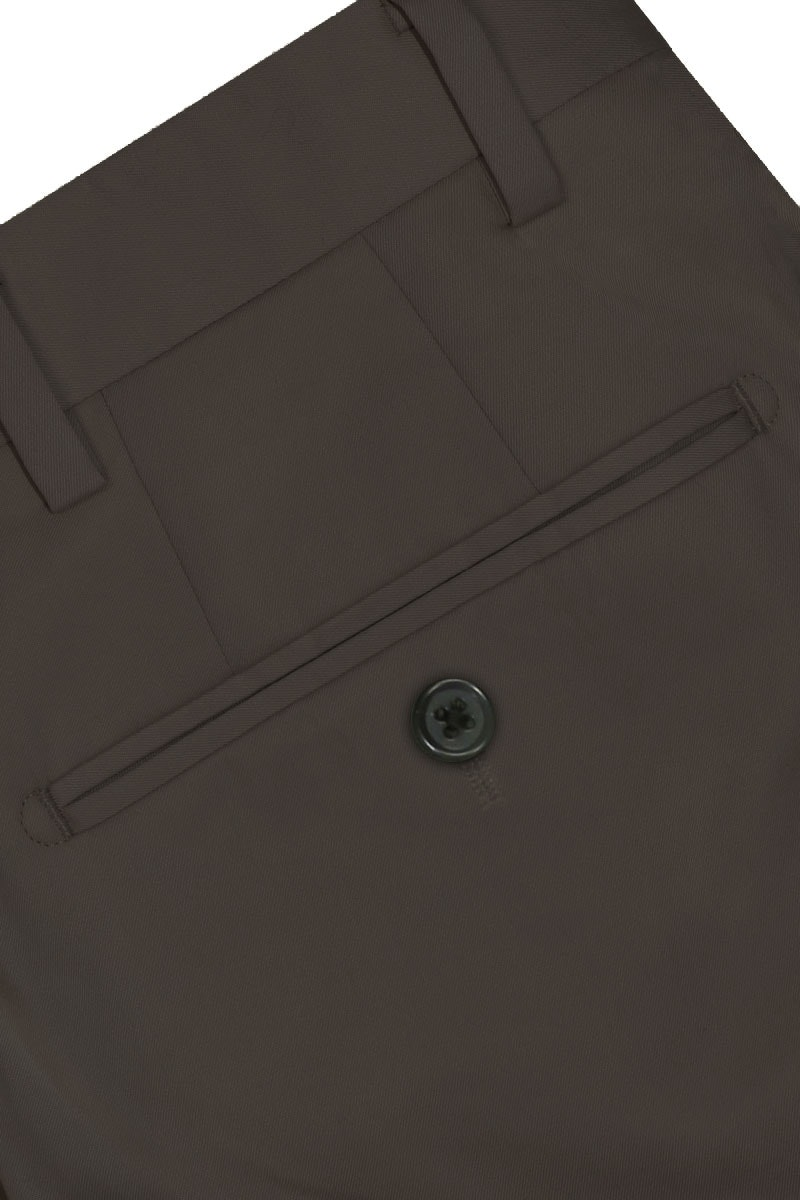 InStitchu Collection The Grifter Dark Grey Cotton Chinos