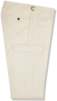 InStitchu Collection The Hume Beige Cotton Chinos