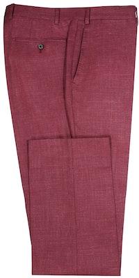 InStitchu Collection The Kinchega Light Maroon Slub Wool Pants