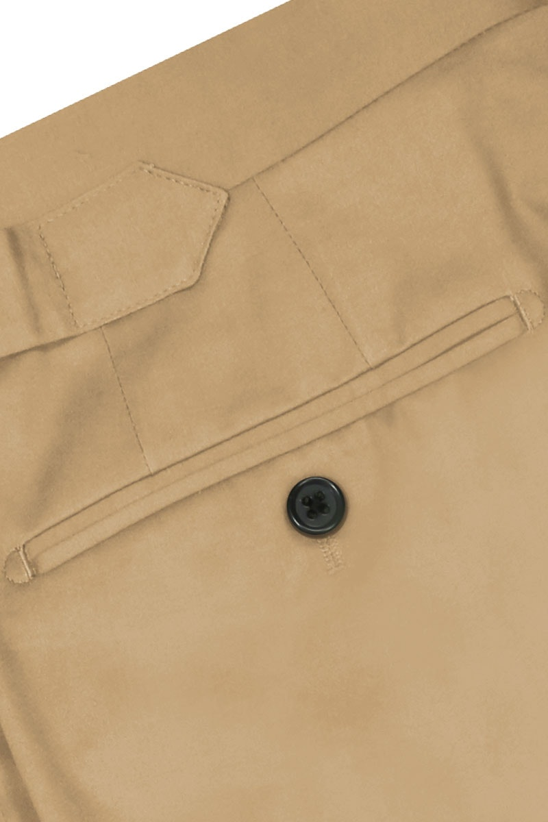 InStitchu Collection The Lachlan Tan Cotton Chinos