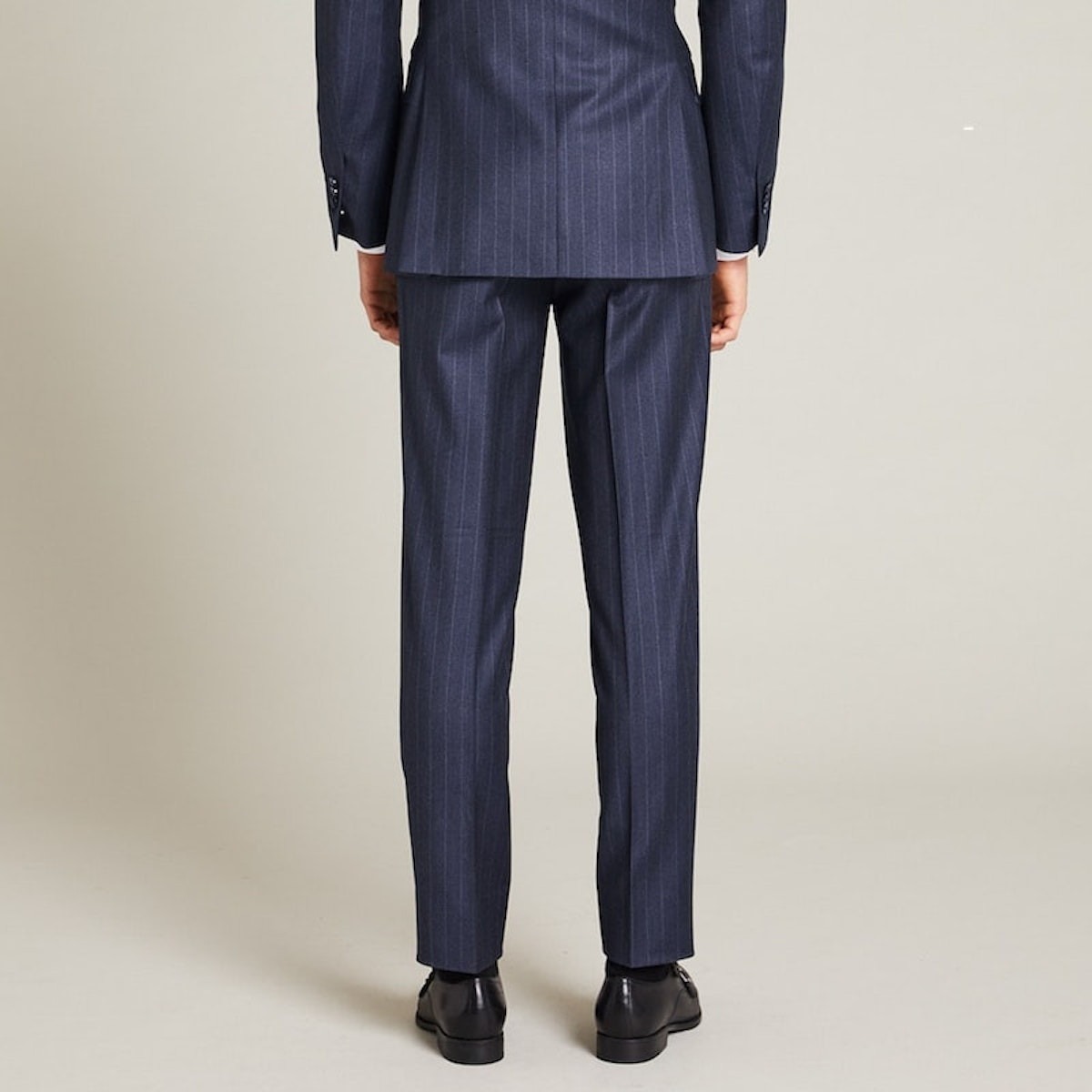 InStitchu Collection The Lander Navy Pinstripe Pants