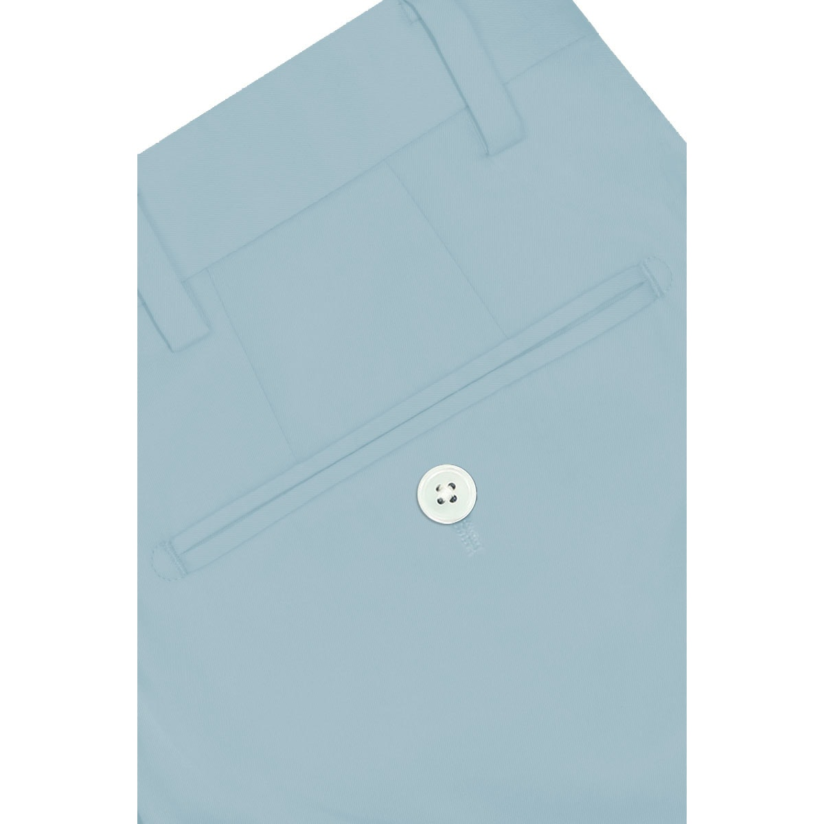 InStitchu Collection The Macarthur Light Blue Cotton Chinos