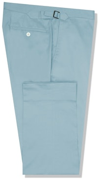 InStitchu Collection The Macleay Light Blue Cotton Chinos