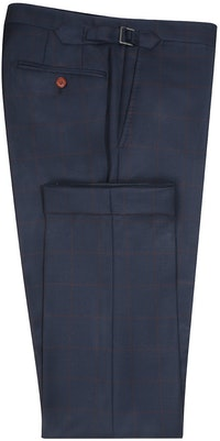 InStitchu Collection The Maurice Navy Windowpane Pants