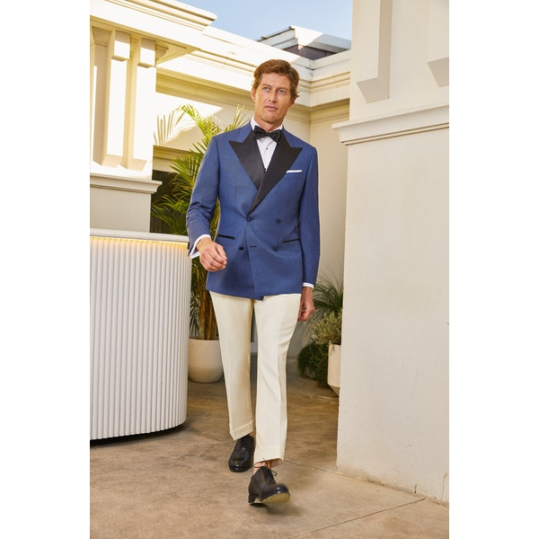 InStitchu Collection The Palmer Cream Dinner Pants