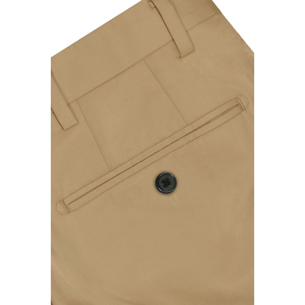 InStitchu Collection The Tan Cotton Chinos