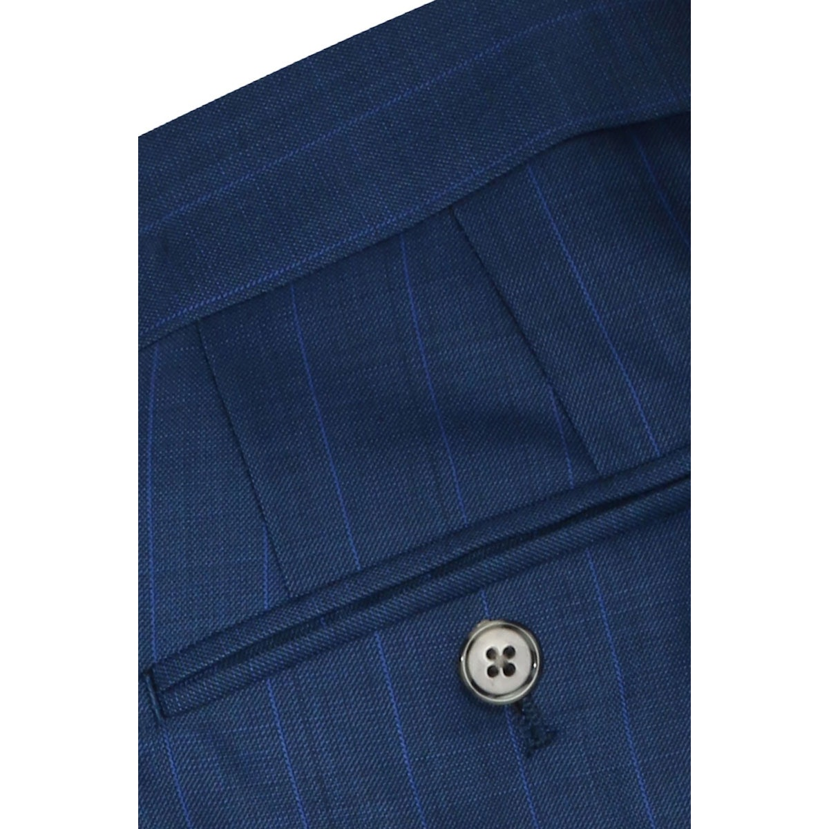 InStitchu Collection The Totti Blue Wool Pants