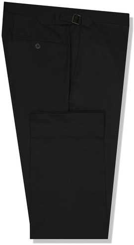 InStitchu Collection The Turners Black Cotton Chinos