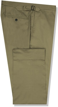 InStitchu Collection The Warrego Khaki Cotton Chinos