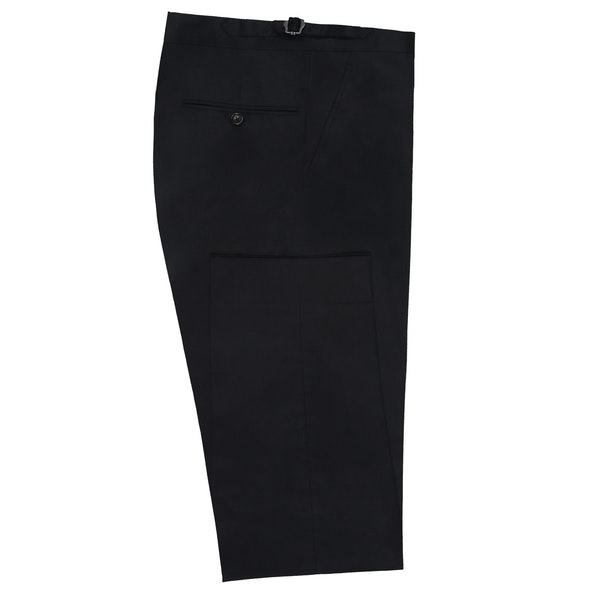 InStitchu Collection Vade Navy Wool Pants