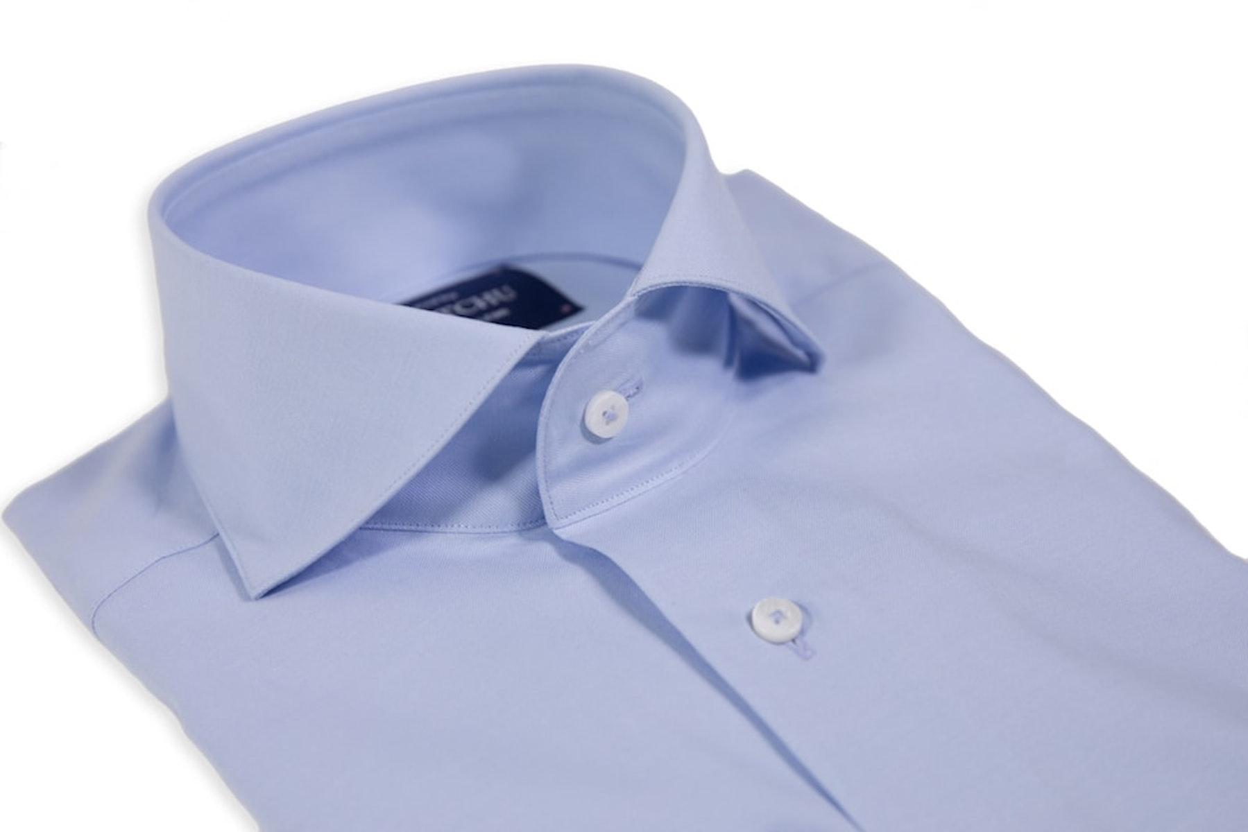 Powder Blue Cutaway Shirt