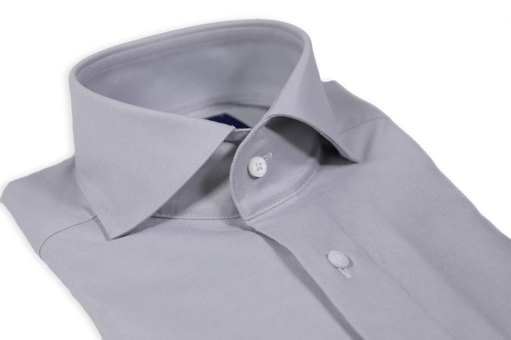 Light Grey Oxford Cutaway Shirt