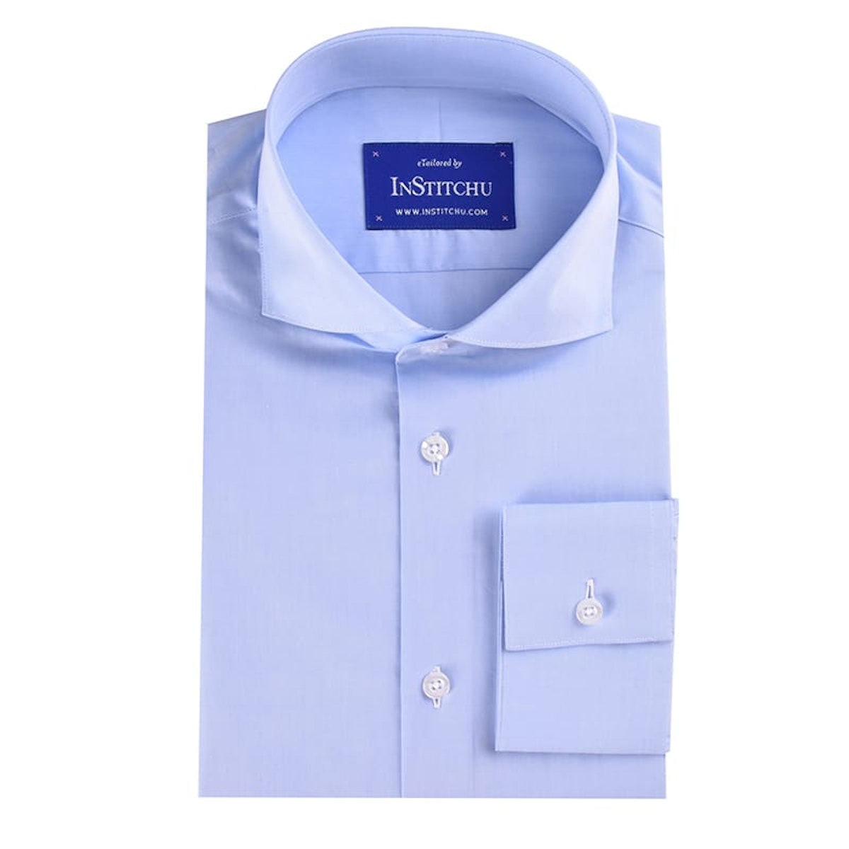 InStitchu Collection Light Blue Summer Chambray Cotton
