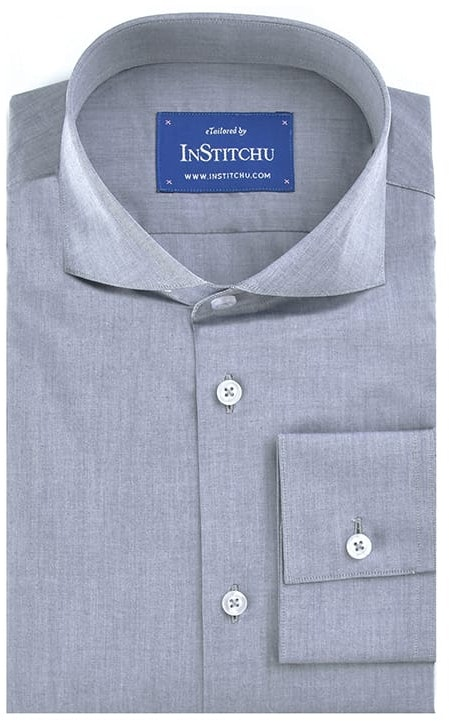 InStitchu Collection Navy Summer Chambray Cotton