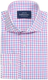 InStitchu Collection Alderley Pink Check Shirt