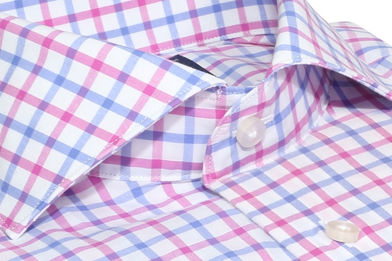 InStitchu Collection Alderley Pink Check Shirt