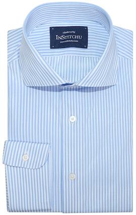 InStitchu Collection Altona Blue Striped Shirt