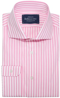 InStitchu Collection Ashgrove Pink Striped Shirt