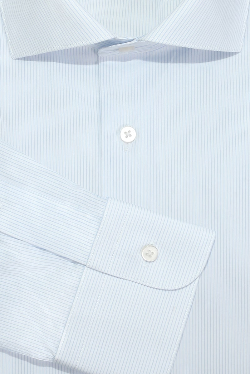 InStitchu Collection Coffs Blue Striped Shirt