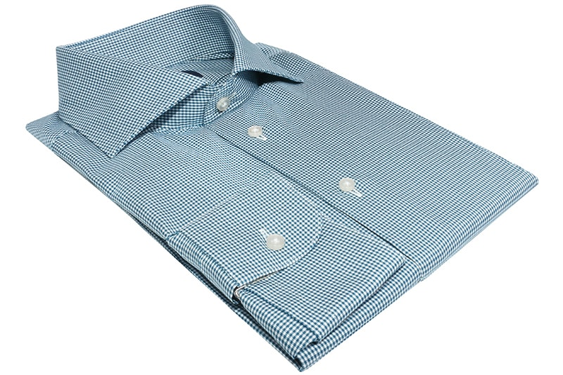 InStitchu Collection Elwood Green Check Shirt
