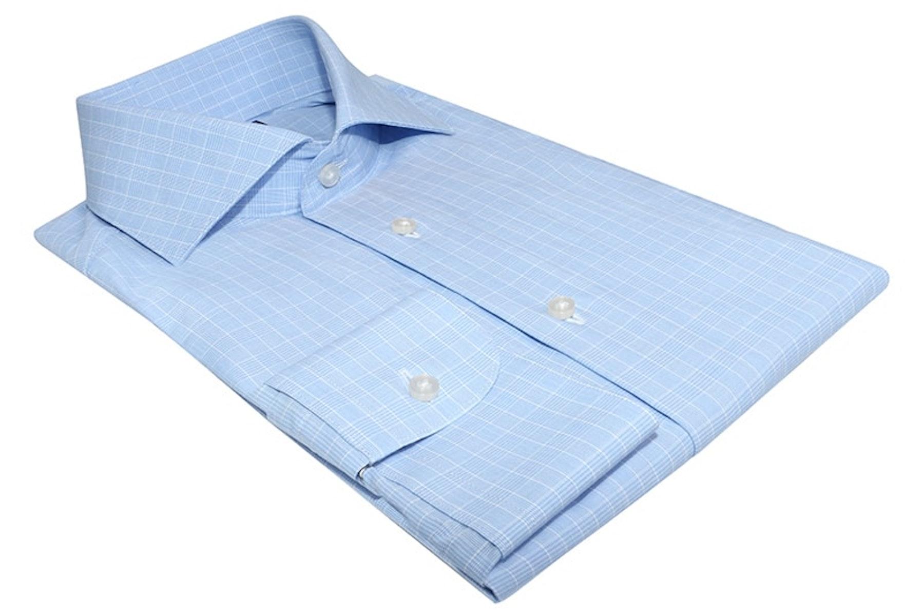 InStitchu Collection Glenelg Blue Check Shirt