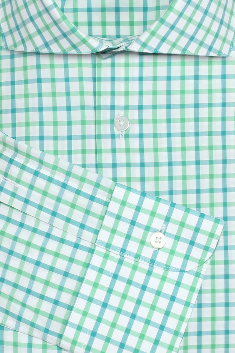 InStitchu Collection Glenorchy Green Check Shirt