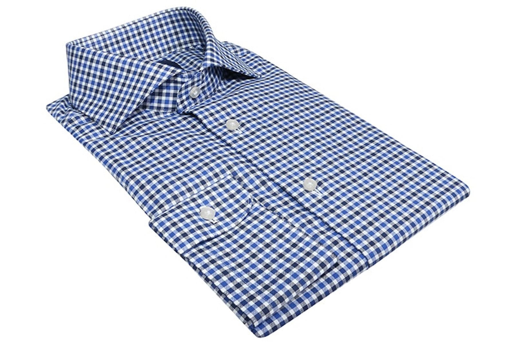 InStitchu Collection Langford Blue Check Shirt