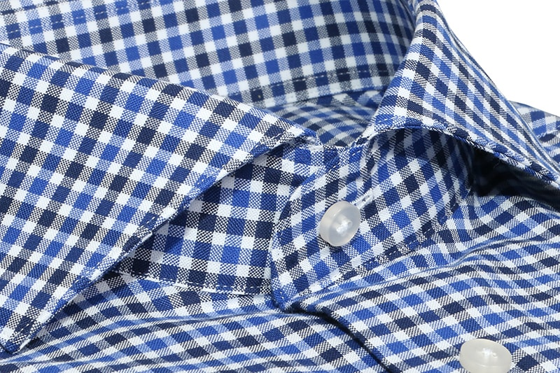 InStitchu Collection Langford Blue Check Shirt