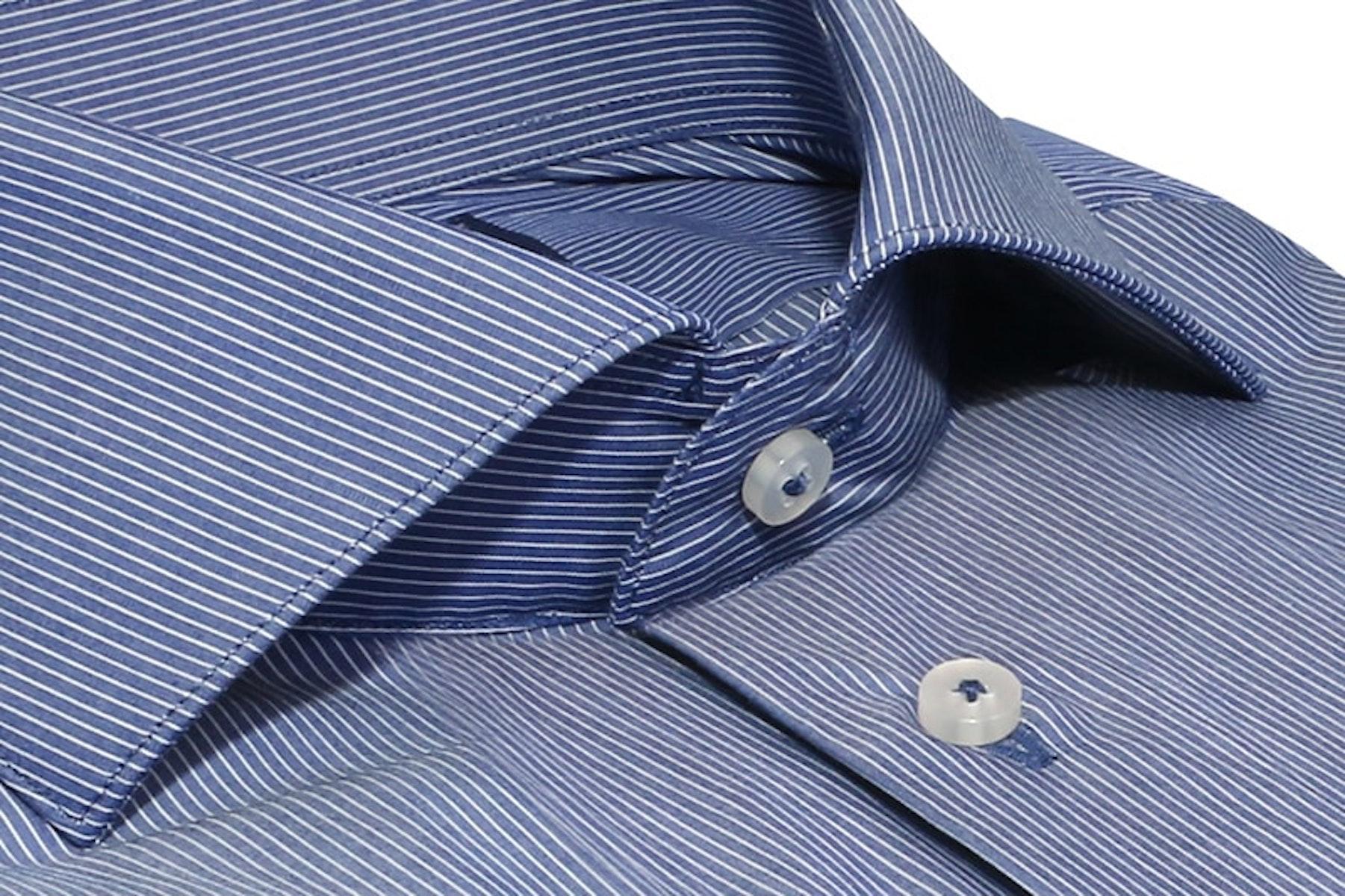 InStitchu Collection Mindarie Blue Striped Shirt