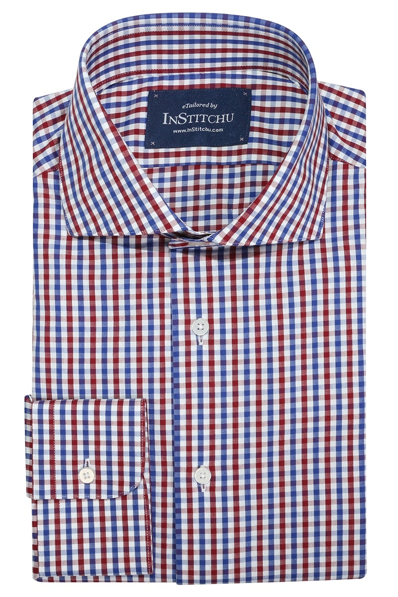 InStitchu Collection Norwood Red Check Shirt