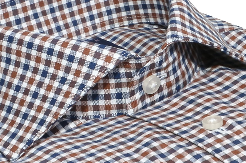 InStitchu Collection Oxley Blue Check Shirt