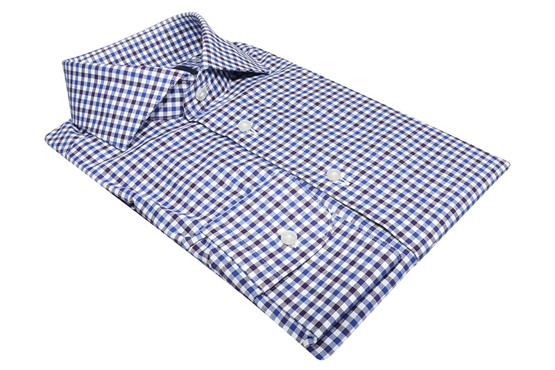 InStitchu Collection Sandgate Blue Check Shirt