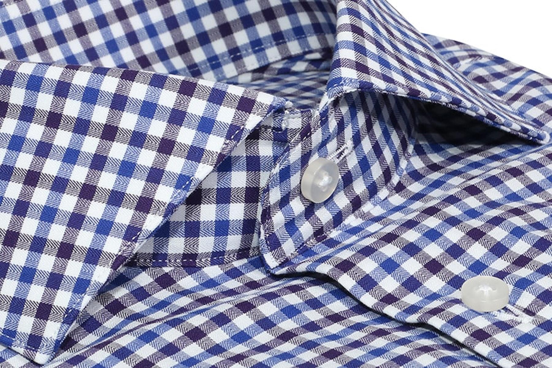 InStitchu Collection Sandgate Blue Check Shirt