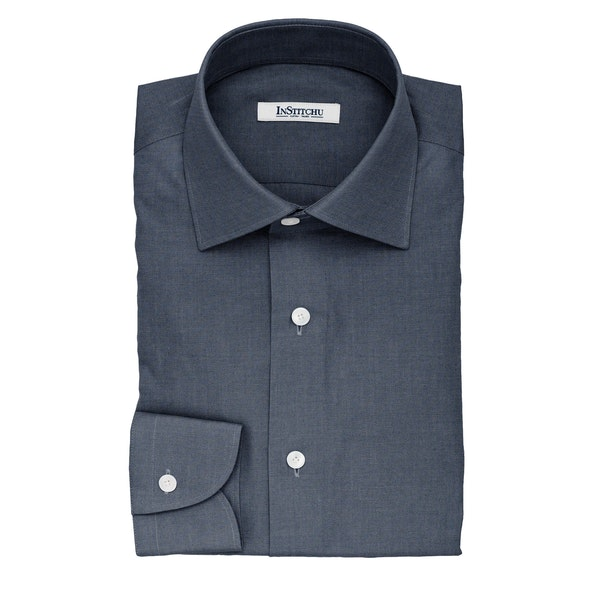 InStitchu Collection The Ackerson Navy Cotton Shirt