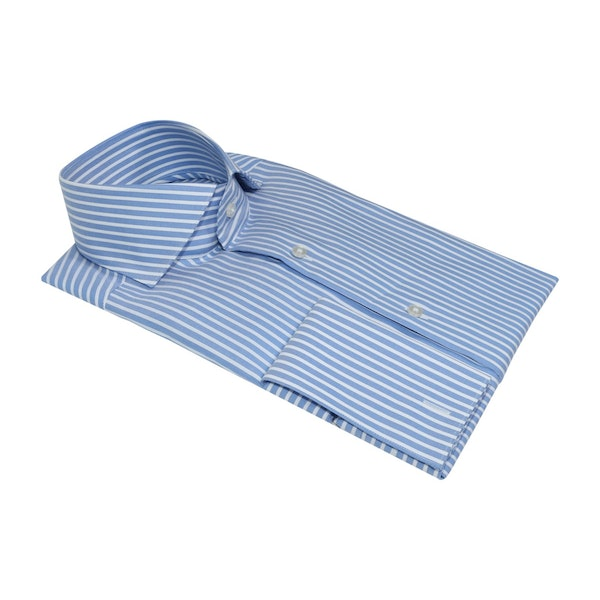 InStitchu Collection The Airlie Blue Striped Shirt