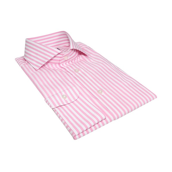 InStitchu Collection The Anawhata Pink Stripe Shirt