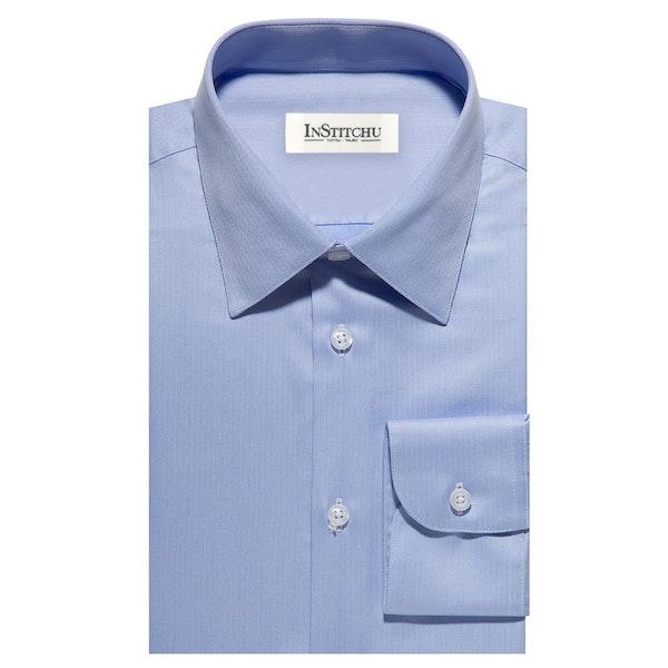 InStitchu Collection The Asan Blue Shirt