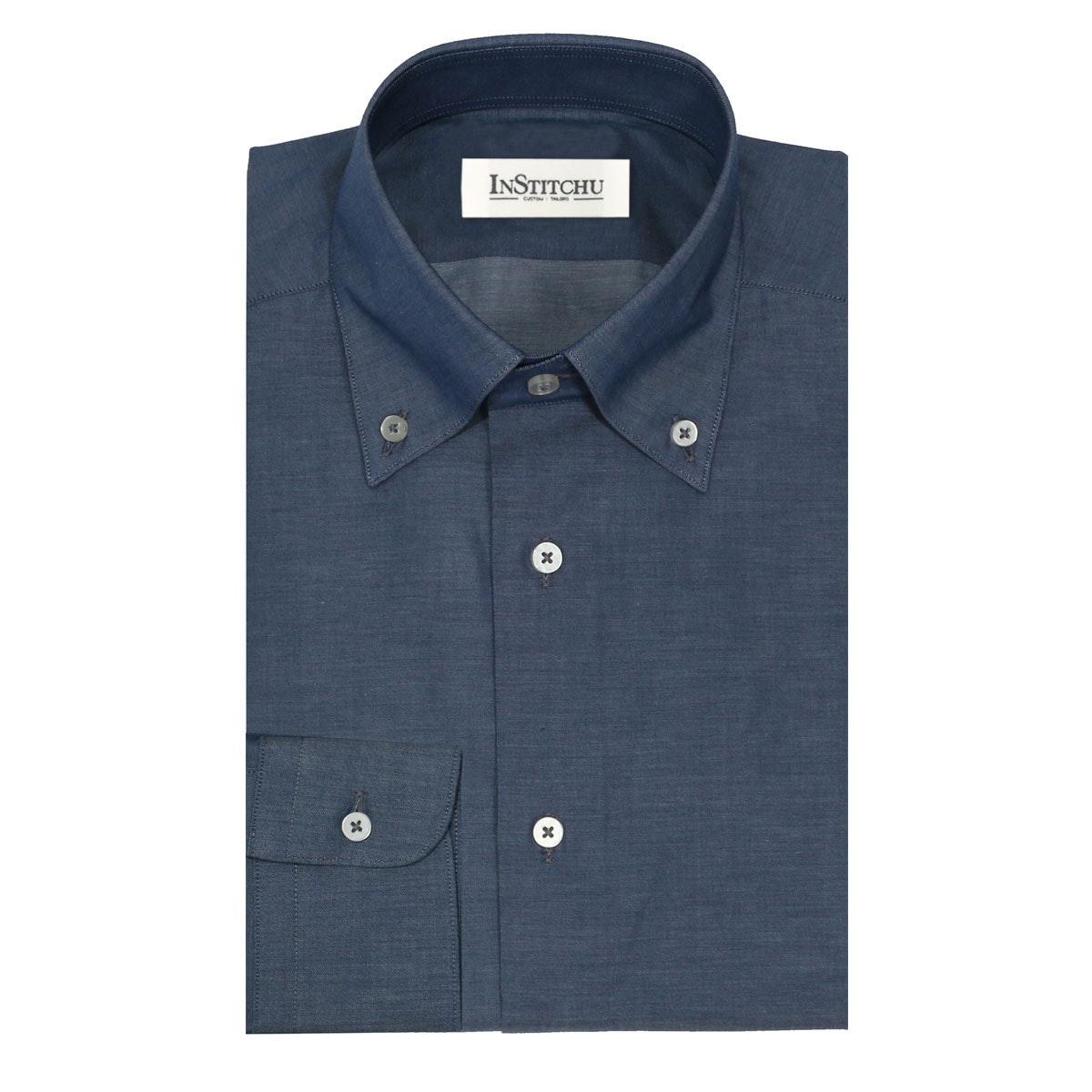 InStitchu Collection The Balnarring Dark Blue Shirt