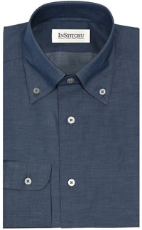 InStitchu Collection The Balnarring Dark Blue Shirt