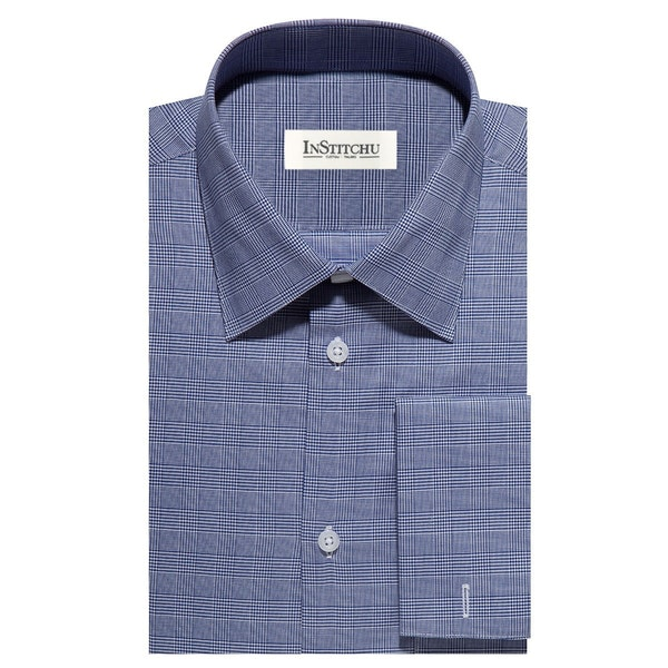InStitchu Collection The Bradford Blue Check Shirt