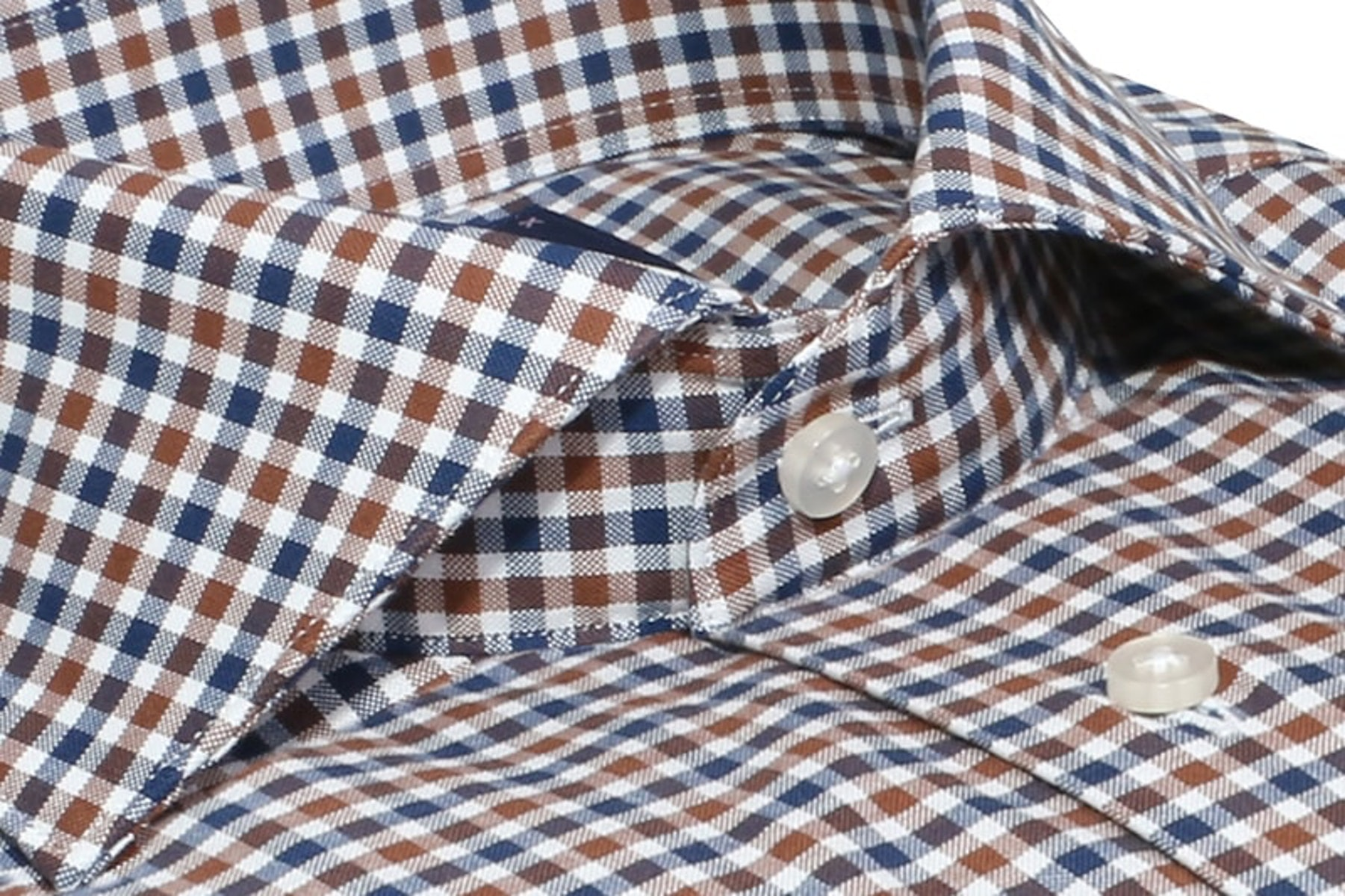 InStitchu Collection The Bream Blue Check Shirt