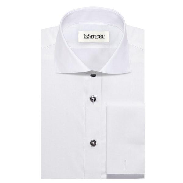 InStitchu Collection The Brett White Shirt