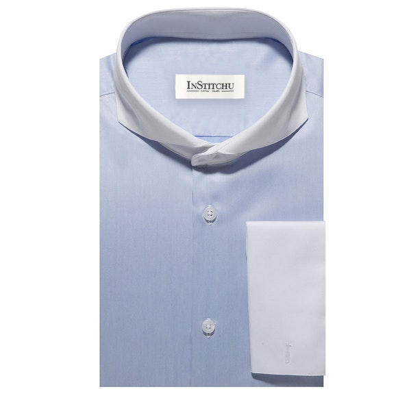 InStitchu Collection The Byron Blue Shirt
