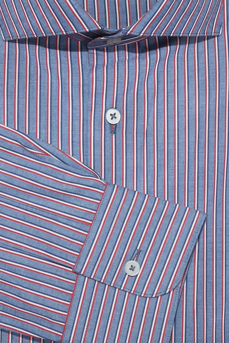InStitchu Collection The Castaways Blue Stripe Shirt
