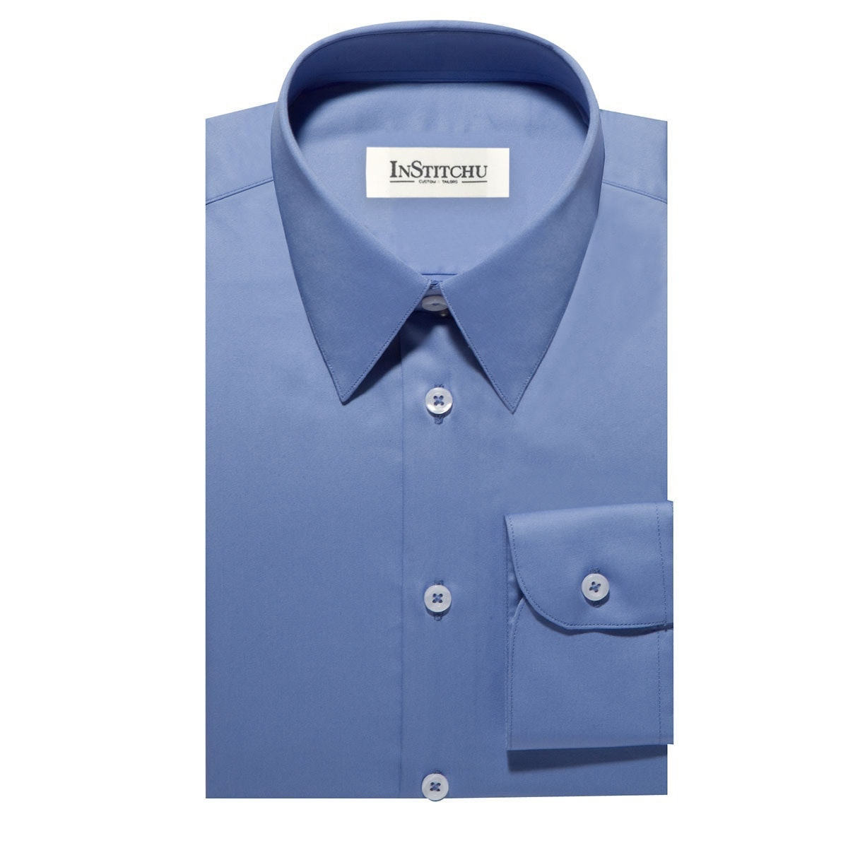 InStitchu Collection The Coin Blue Shirt