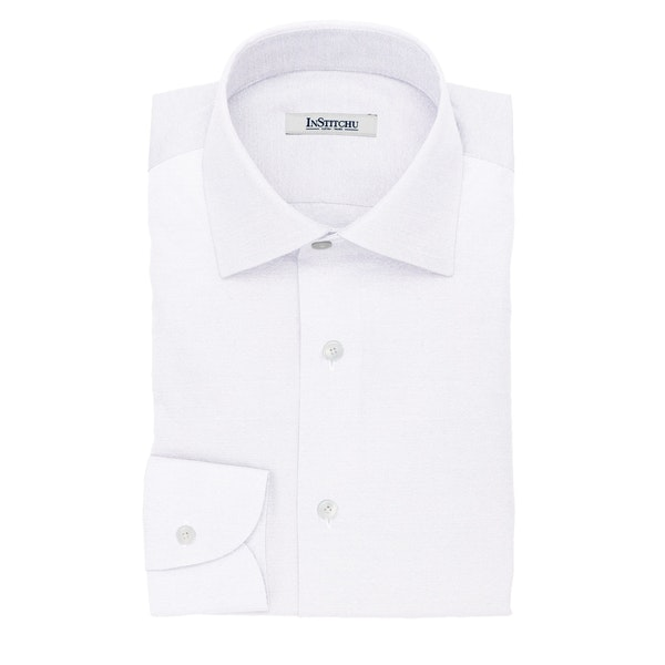 InStitchu Collection The Connelly White Cotton Shirt