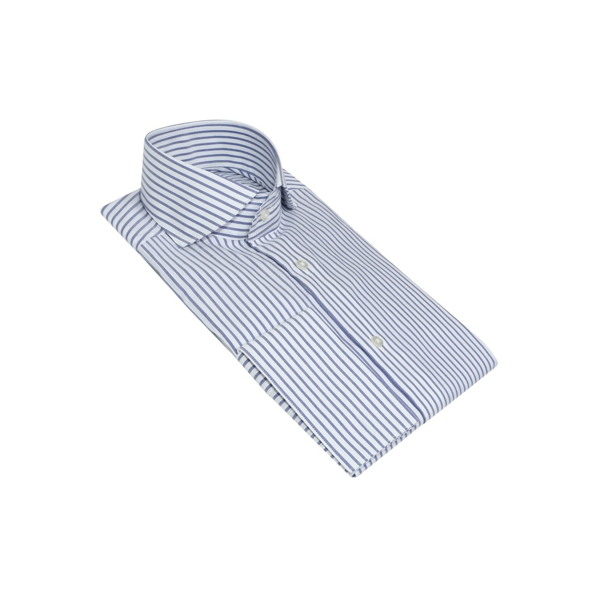 InStitchu Collection The Cowley Blue Striped Shirt