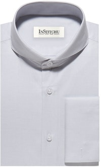 InStitchu Collection The Crane Light Grey Shirt