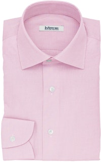 InStitchu Collection The Cussler Pink Pincheck Cotton Shirt