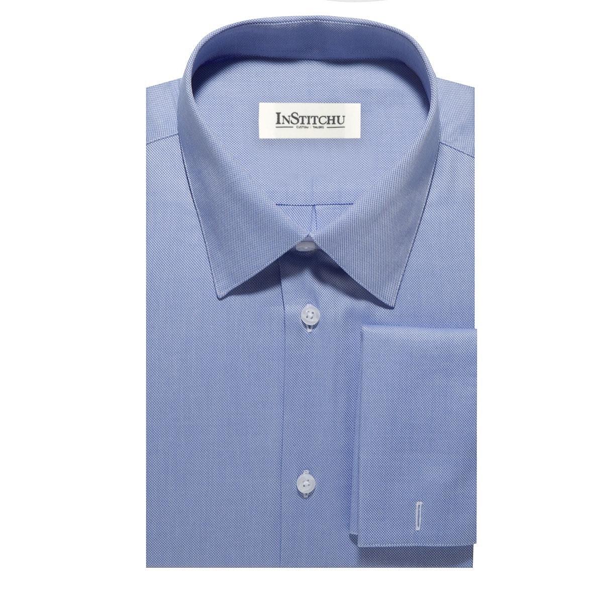 InStitchu Collection The Duxbury Blue Shirt